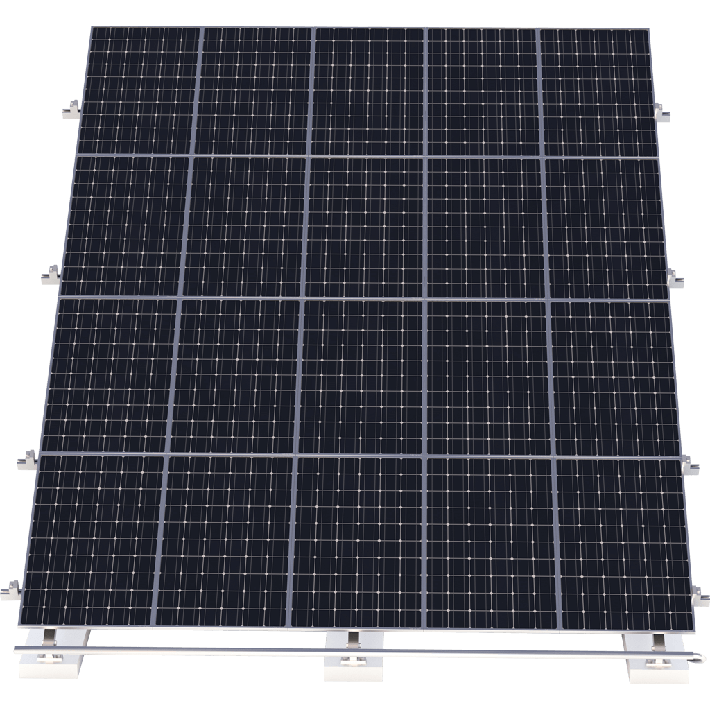 Solar PV System 240Kw Mini grid